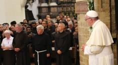 Porziuncola 2016 pellegrinaggio del Papa