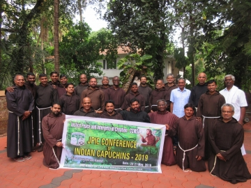 JPIC Conference the Capuchins in India