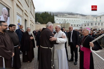 Letter of thanks giving of Pope Francis to the General Minister