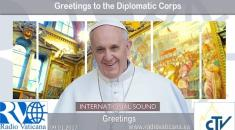 Greetings to the Diplomatic Corps